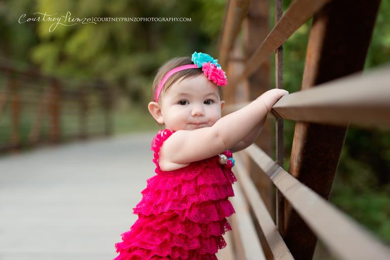 Austin baby photographer family children emerson turns one